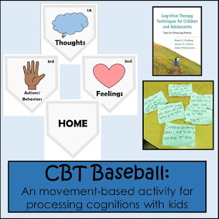 Cognitive behavior therapy baseball activity: incorporating movement