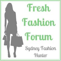 Sydney Fashion Hunter - Fresh Fashion Forum Button