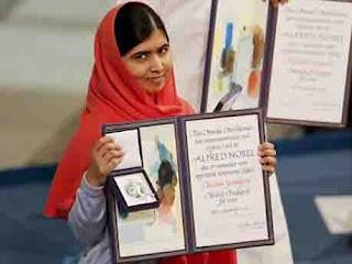 Nobel laureate malala