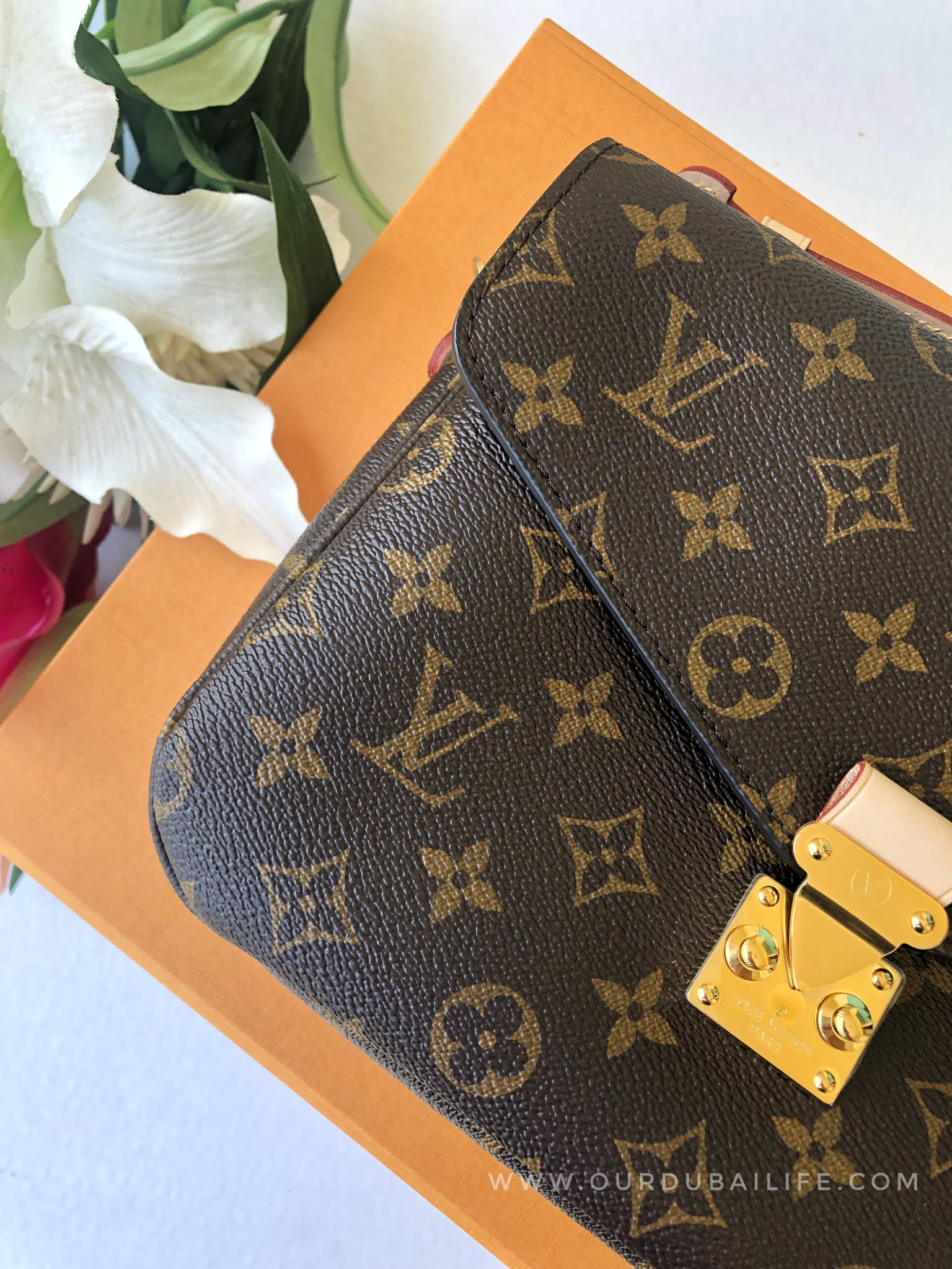 Louis Vuitton Pochette Métis monogram print unboxing