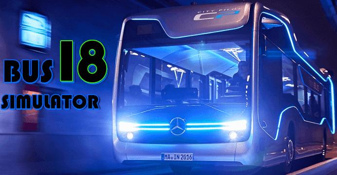 تحميل لعبة bus simulator 2018 للكمبيوتر وللاندرويد بحجم صغير جدا