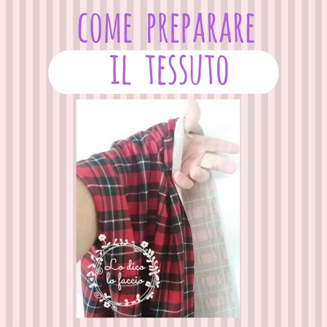 Come preparare il tessuto prima di cucire