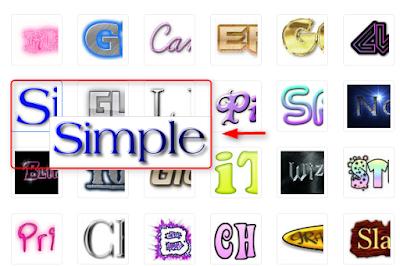 Cara membuat logo tulisan di cooltext.com
