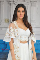 Telugu Actress Amyra Dastur Stills in White Skirt and Blouse at Anandi Indira Production LLP Production no 1 Opening  0109.JPG