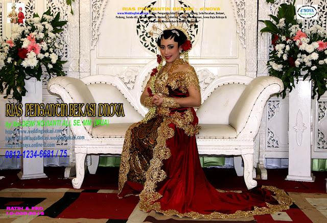 Rias Pengantin SOLO PUTRI - Sanggar Make Up Rias Pengantin Bekasi dNova Bekasi Utara - Ratih & Eko (4)