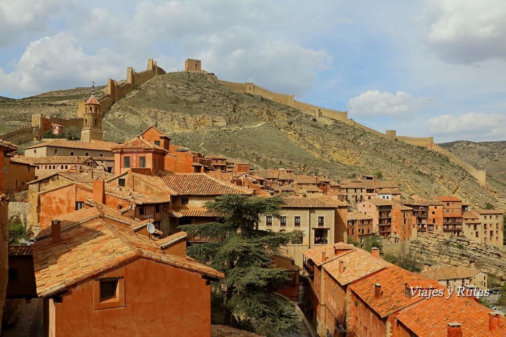 Vistas de Albarracín desde la catedral