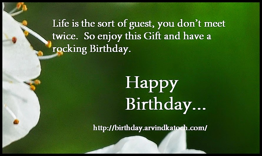 life, Picture, guest, gift, Birthday card, Happy Birthday