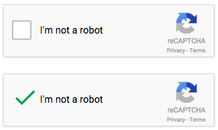 I'm not a robot CAPTCHA