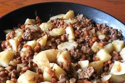 Hobo Stew - 4 Ingredients