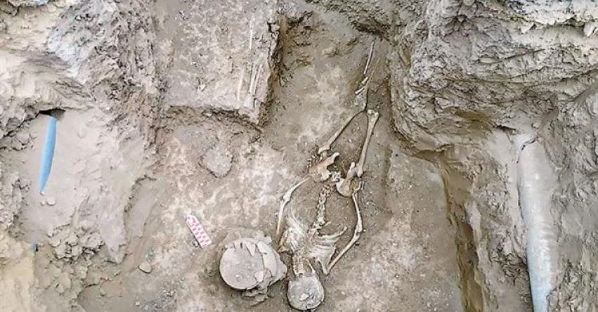 Descubren en Carabayllo un contexto funerario de la cultura Lima