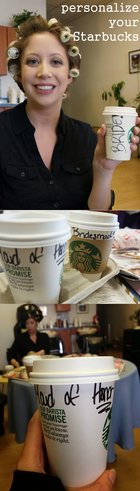 personalize your starbucks
