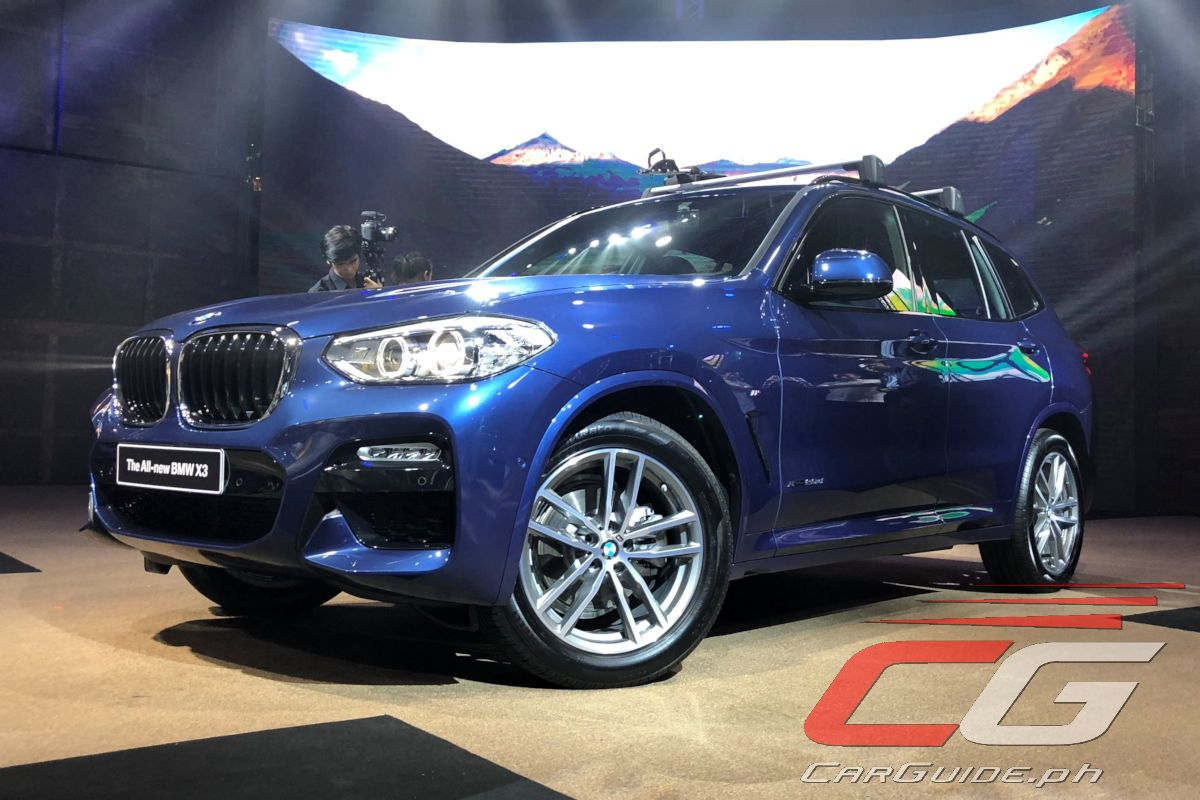 Bmw Philippines Brings To Market All New X3 W 21 Photos