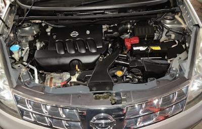 Foto Mesin Nissan Grand Livina 1.8 Liter