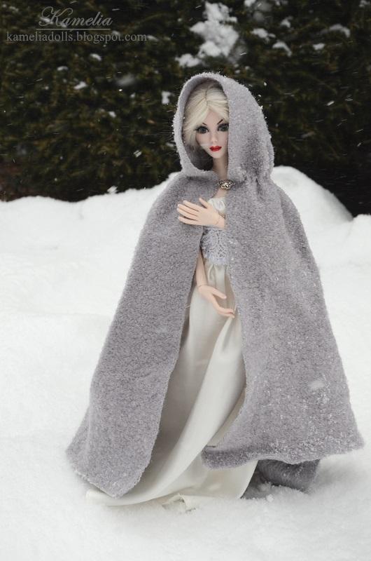 Winter coat for Evangeline Ghastly.