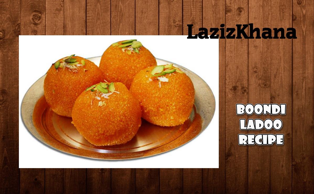 बूंदी के लड्डू बनाने की विधि - Boondi Ladoo Hindi Recipe