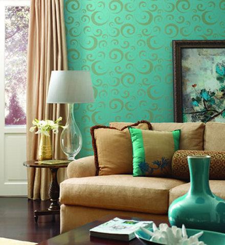 arquitectura decoracion y mas el papel tapiz. Black Bedroom Furniture Sets. Home Design Ideas