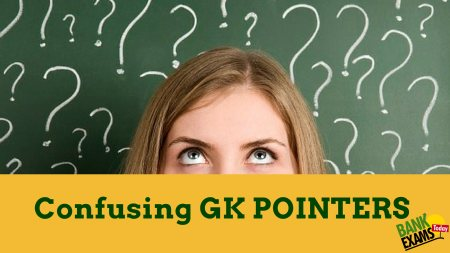 confused gk pointers