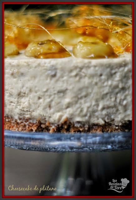 cheesecake de plátano tererecetas 04