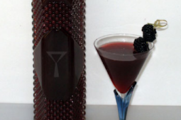 Homemade Blackberry Liqueur