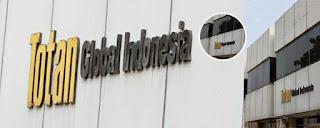 Loker Terbaru Via Email & Pos Cikarang PT Totan Global Indonesia Jababeka
