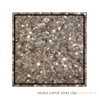 Golden Copper Stars