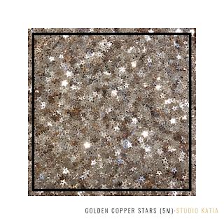 Golden Copper Stars