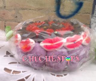 Tarta Chuches Caramelo Pequeña Halloween