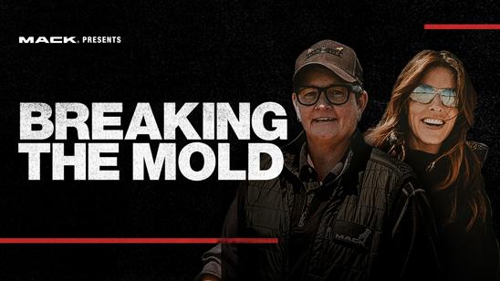 Mack Trucks released Breaking the Mold, the fourth episode of its RoadLife docu-series, on roadlife.tv