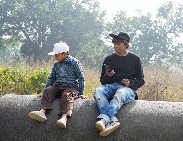 Sourajit Saha & Nephew Rick 1