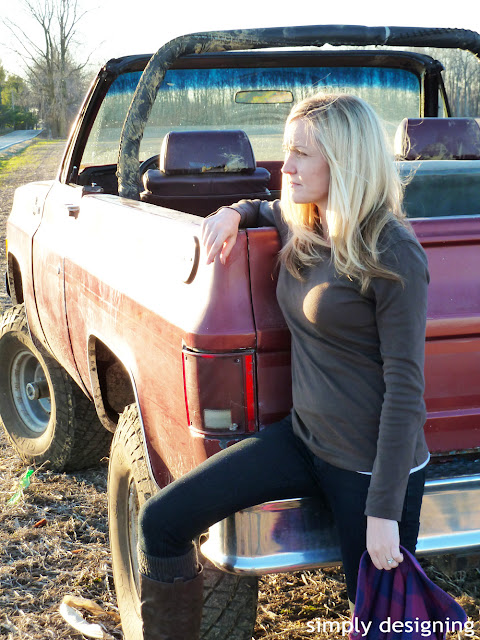 duluth+womens+v+neck+long+sleeve+shirt What-To-Wear While DIY-ing 22