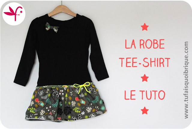 Robe Tee-Shirt Automne le TUTO