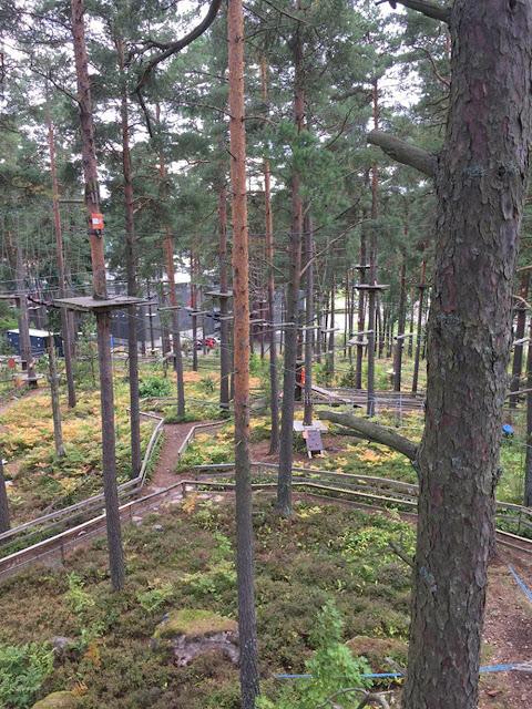 Elämyksiä köysiseikkailupuistoissa Suomessa ja ulkomailla 7