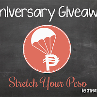 Stretch Your Peso Anniversary Giveaway