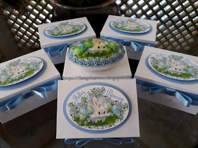 Decoupagem sabonete com papel seda
