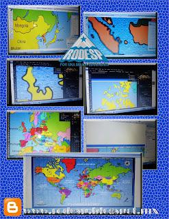 Planisferio coordenadas