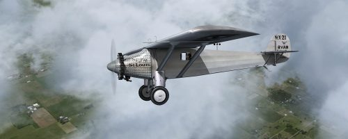 Flight Simulator News Brief: Freeware Ryan NYP Spirit of St  Louis