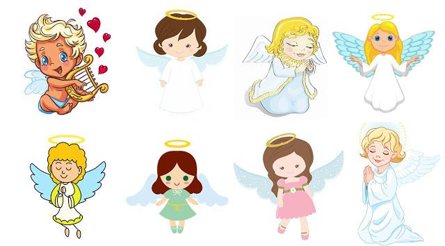 Выберите понравившегося ангелочка и получите предсказание