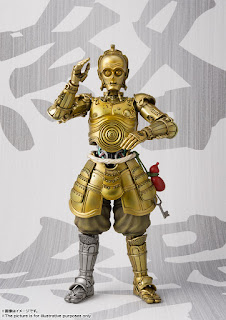 "Mei Sho Movie Realization Translation Karakuri C-3PO de ""Star Wars"" - Tamashii Nations"