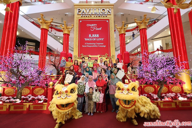 8,888 Bags Of Love, Bags Of Love, Charity At Heart 2019, Pavilion KL, cny 2019, lifestyle, charity