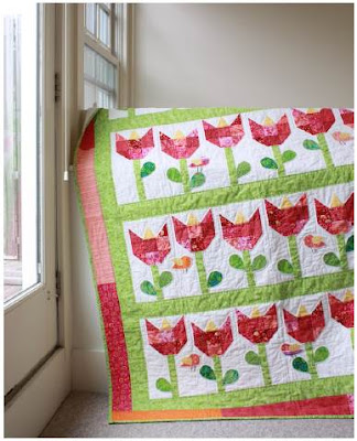 Quilt Inspiration: Free Pattern Day: Easter and Spring Quilts !
