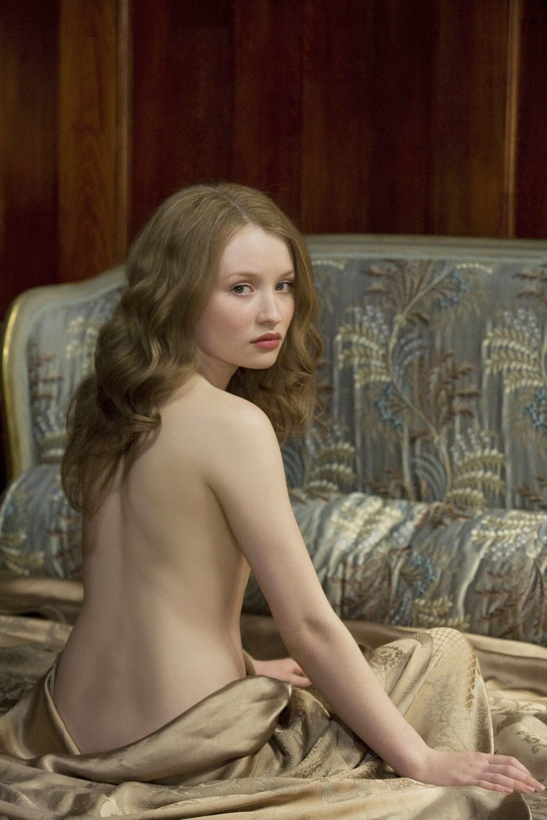 Sleeping Beauty (2011), Emily Browning as Lucy, seductive and sexy.