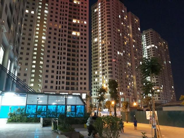 Dự án Gelexia Riverside đẹp lung linh về đêm