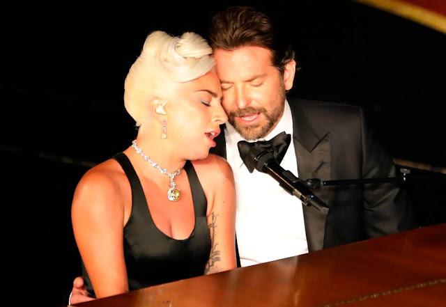 Lady Gaga dan Bradley Cooper di Oscar 2019