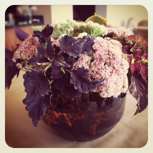 Fall Foliage Centerpiece