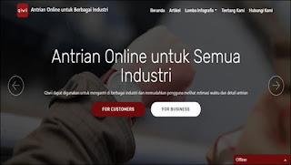 Daftar via website qiwii