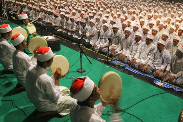 Lima Ribu Hadrah akan Gantikan Pesta Kembang Api Malam Tahun Baru di Surabaya