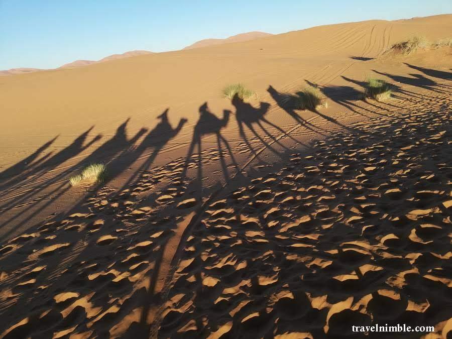 Itinerary Maroko