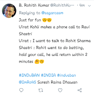 Twitter Trolls Rohit Sharma Hilariously for back to back failuers
