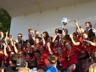 RUGBY - España campeona de Europa y un pasito menos para el soñado Mundial