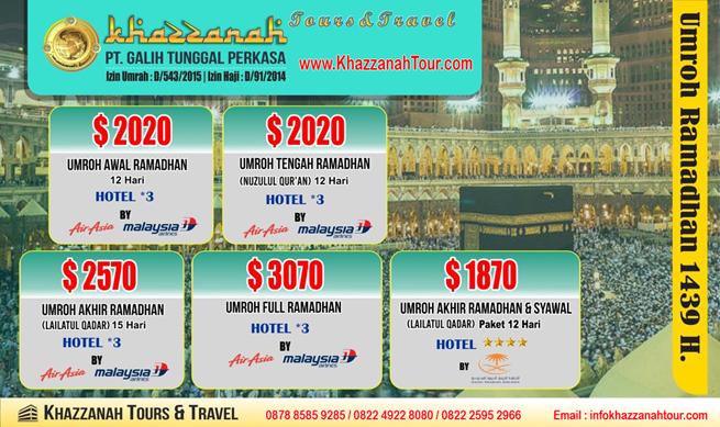 Travel Khazzanah Tours Ramadhan